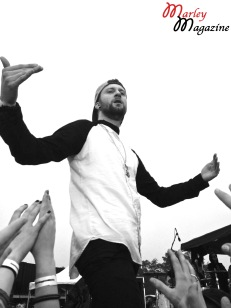 Kyle Even of Breathe Carolina performing at Skate and Surf Fest 2013.