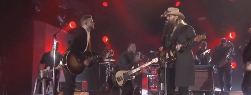 Chris Stapleton And Justin Timberlake Perform Drink You