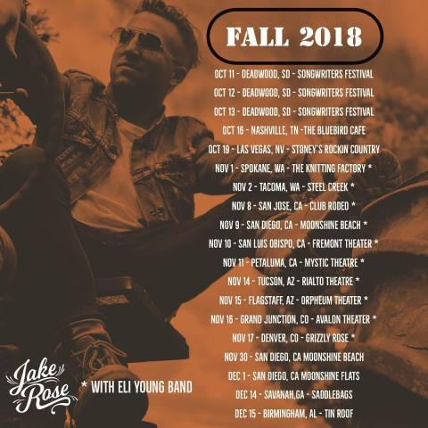 Jake Rose Tour x Heirwaves